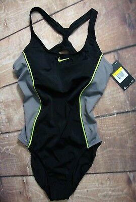 Nike 1 Piece - Nike Swimwear Women's $88 Fast Back 1-piece Swimsuit Swim One-piece