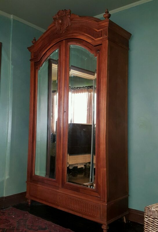 PRICE REDUCED to 750 Antique Armoire French 15th  century Louie.  In Las Vegas