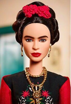 ❤ Frida Kahlo Mattel Barbie Doll Inspiring Women Series Mexican Artist Khalo ❤