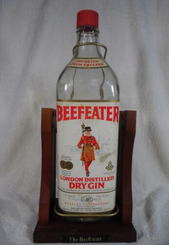 Beefeater 1 Gallon Tilt Bottle London Distilled Dry Gin England ShelfTop