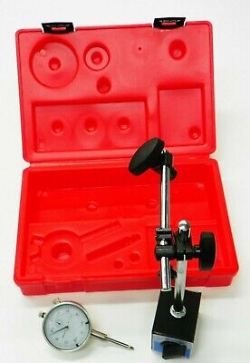 2 Piece Inspection Set Mag Base Dial Indicator With Storage Case  Xs001