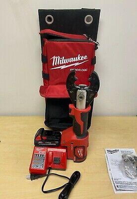 Milwaukee 2678-22bg M18force Logic 6t Utility Crimper Kit Wd3 Grooves