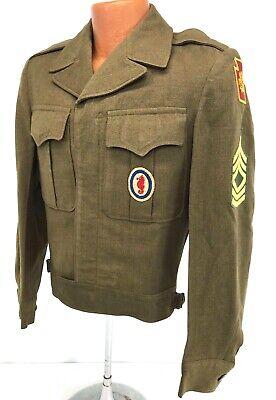 1946 US Army Amphibious Training Command Enlisted Ike Jacket
