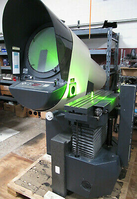 Ogp Optical Gaging Products 20 Screen Comparator W 2-axis Powerfeed Excellent