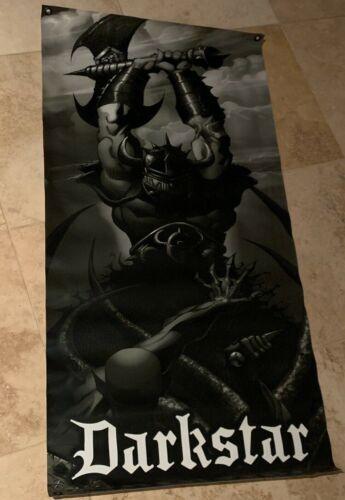 "Vintage Darkstar Skateboards Knight Vinyl Poster Banner 48"" x 24"""