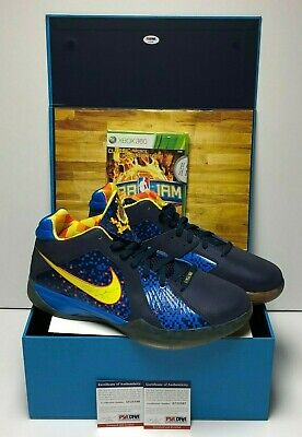 bb8ca7497a9 Kevin Durant Signed Nike Zoom KD III EA Sports Promo Sample Basketball Shoes  PSA