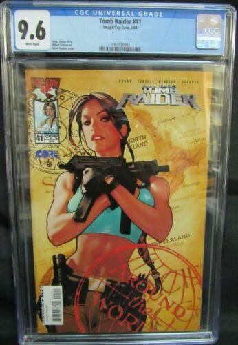 Tomb Raider #41 (2004) Beautiful Adam Hughes Cover CGC 9.6 ZZ11