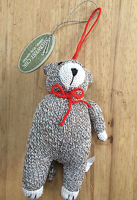 Sock Monkey One Arm Bear Christmas Ornament Midwest Cbk New W Tag