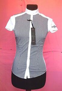 camicia-da-donna-della-CAVALLERIA-TOSCANA-molto-elegante-tessuto-a-Quadrattini