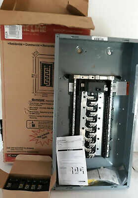 Square D Main Breaker Box Kit 100 Amp 24 Space 48 Circuit Breaker Value Pack