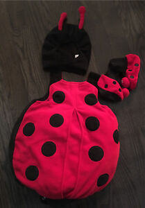 Lady Bug Costume; 6-12 months