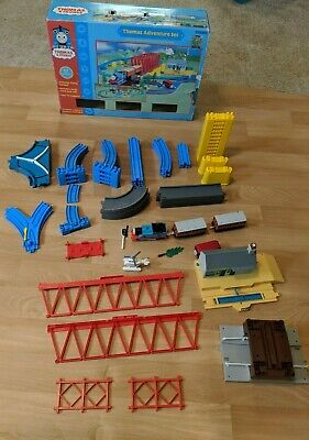 Thomas the Tank Engine Adventure Set Track 52 Pieces Some Missing Partial Tomy