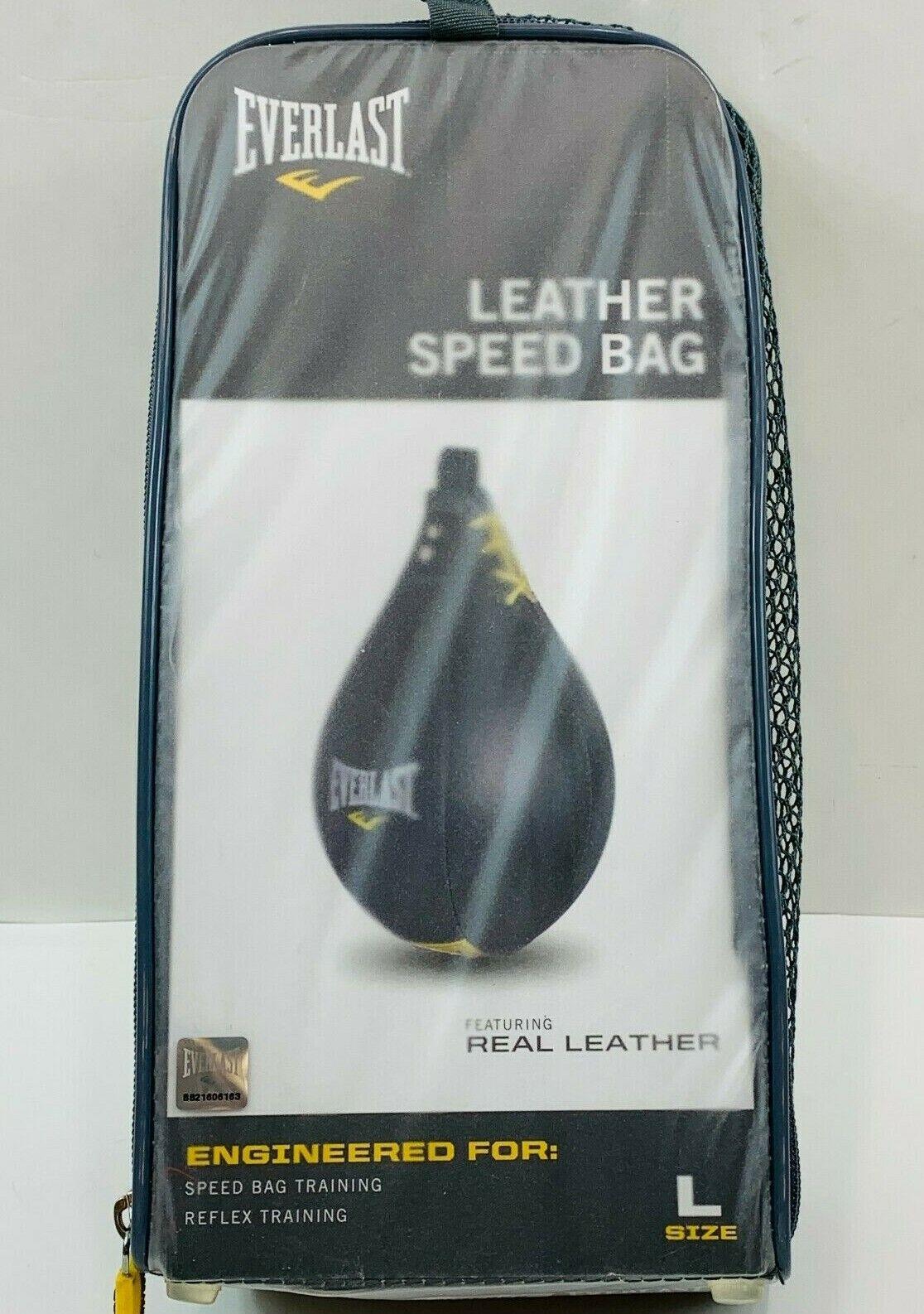 Everlast Leather Speed Bag EA  - $34.99
