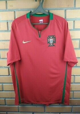 07972495b Portugal soccer jersey large 2008 2010 home shirt football Nike