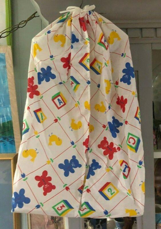 Vintage Riegel Diaper Stacker Snuggle Buddies pattern in original box USA made