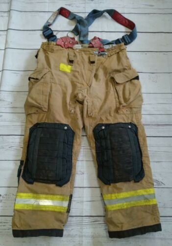 Morning Pride Fire Fighter Turnout Pants Size 42 x 31 Bunker Gear 2008 W/ LINER