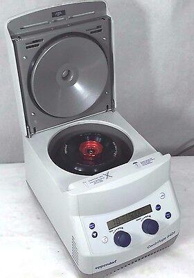 Eppendorf 5424 Centrifuge W Rotor Fa-45-24-11 Lid Microcentrifuge
