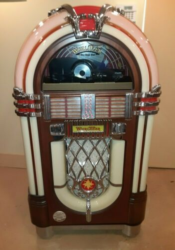 BEAUTIFUL WURLITZER OMT 1015 PLAYS 100 CDS FINE CONDITION