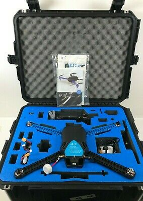 3DR Iris+ RTF Quadcopter Drone w/ GoPro Mount & Travel Case