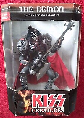 "KISS Creatures -DEMON 12"" Statue 2002 McFarlane Limited Edition Gene Simmons NEW"