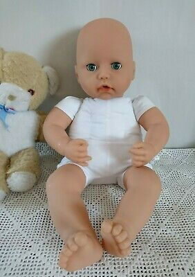 """17"""" Baby Doll To Dress ~ Vinyl /Soft Baby Doll. Baby Annabell Please Read"""