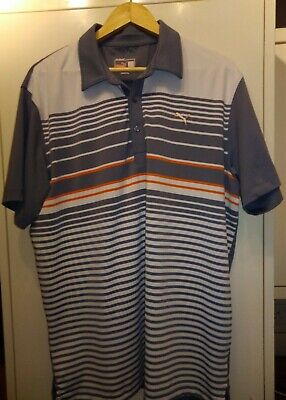 PUMA Golf Mens Short Sleeve Polo Shirt  XL