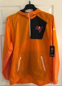 Mens Nike Tampa Bay Buccaneers Vapor Speed Fly Rush Half-Zip Jacket SIZE: L