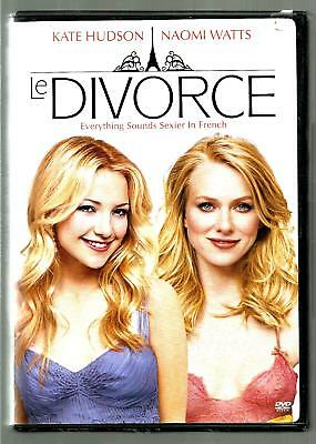 KATE HUDSON NAOMI WATTS Le Divorce DVD, 2004, Dual Side  - $2.99