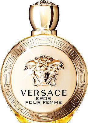 VERSACE EROS POUR FEMME 3.4 oz 3.3 edp Perfume New Tester
