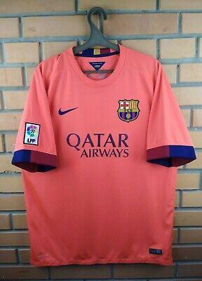 3a8591dd695 Barcelona jersey XL 2014 2015 away shirt 610595-672 soccer football Nike