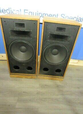 Klipsch 2 Type CHR 00 Vintage Stereo Speaker Pair