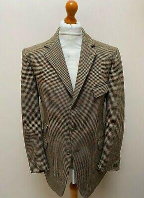 Vintage checked John G Hardy tweed jacket size 44 long