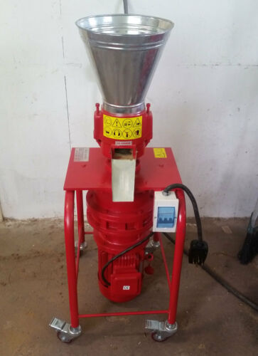 """Model 150 6"""" 5hp 3ph Vertical Pellet Mill. Make feed/fuel pellets. USA Shipping!"""