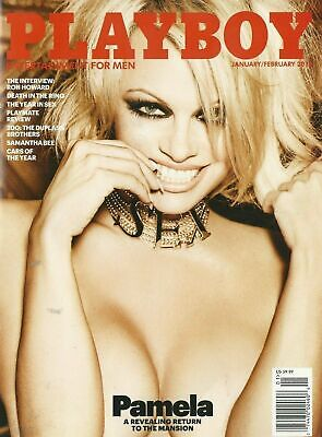 Playboy January February 2016 Pam Anderson Last Nude Issue Ron Howard NM