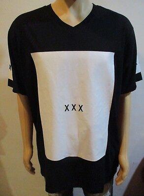 Men's Leonine New York Black & White XXX Tee Shirt size 3XL New York Tee