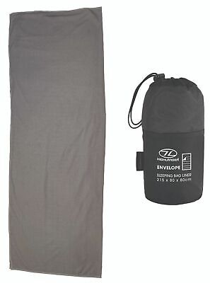 Wild Country Micro Fleece Mummy Sleeping Bag Liner with Stuff Sac