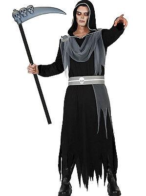 sternis S-M/L-XL Totenkopf Sense Sensenmann Halloween (Der Sensenmann Halloween-kostüme)