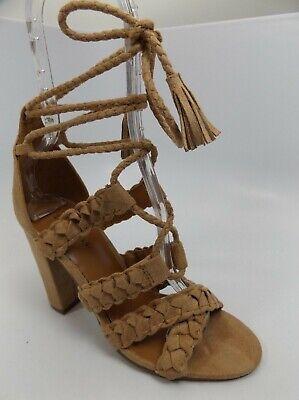 Indigo Rd. Women's Bazaar Heeled Dress Sandal TAUPE SZ 7.0 M NEW DISPLAY  6043
