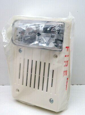 Simplex 4903-9459 Truealart Ceiling Addressable Horn 15cd Strobe White 0626662