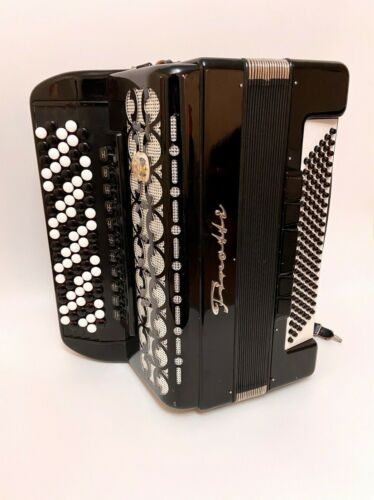 Weltmeister Firotti Chromatic Button Accordion Knopfakkordeon Fisarmonica