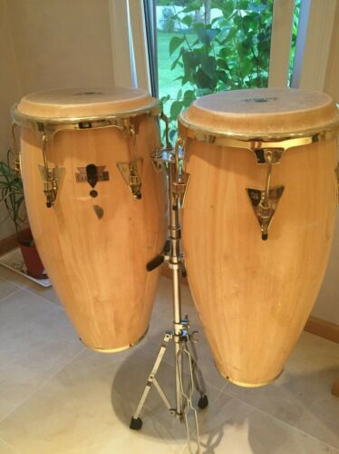 "LATIN PERCUSSION LC747 CALIENTE SERIES 11"" & 12"" CONGA SET"