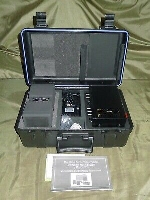 Cambridge Soundworks Model Twelve suitcase speaker system by Henry Kloss