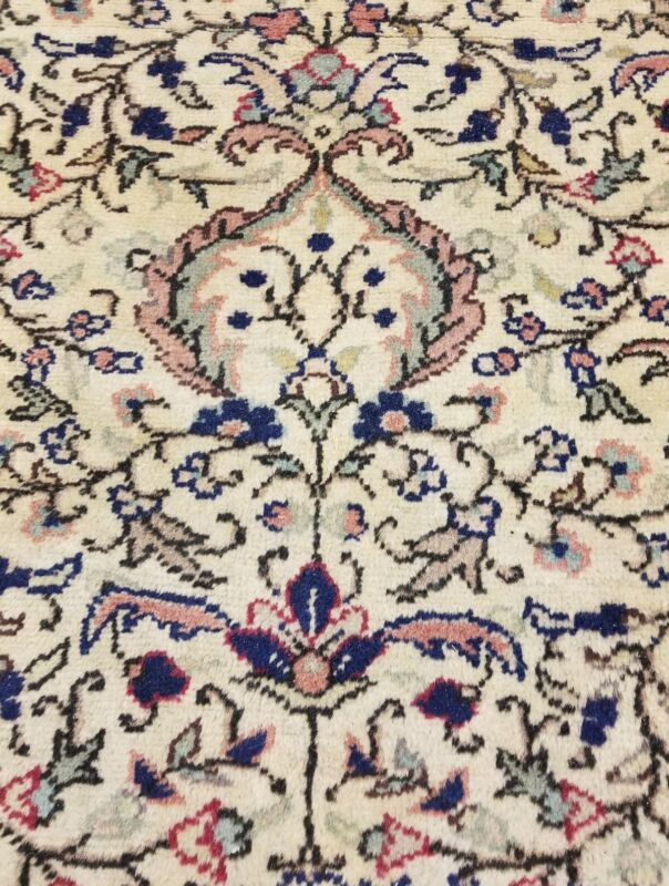 Masterpiece 1930-1939s Antique Muted Dyes 10x14ft Wool Pile Legendary Hereke Rug