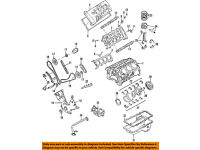FORD OEM 08-10 F-350 Super Duty-Engine Crankshaft Crank Seal 8C3Z6700B