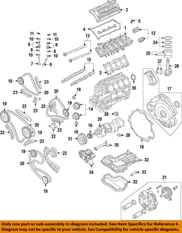 Vw Volkswagen Oem 2009 Touareg-engine Cylinder Head 079103063cr
