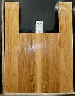 Tonewood Esche Ash Tonholz Guitar Builder Luthier Acoustic Backs Side Curly 048
