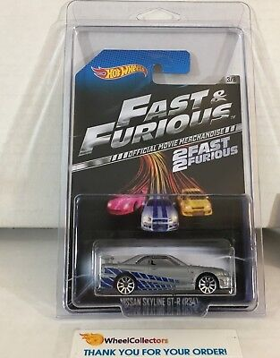 Nissan Skyline GT-R (R34) * Hot Wheels Fast & Furious * NB30