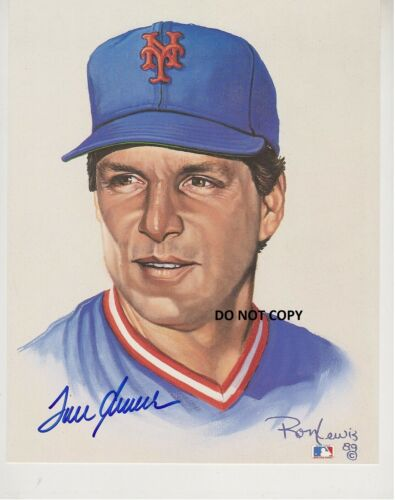 TOM SEAVER 8X10 AUTHENTIC IN PERSON SIGNED AUTOGRAPH REPRINT PHOTO PICTURE