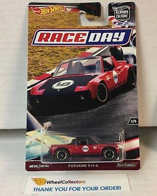 Porsche 914-6 RED * RACE DAY * Hot Wheels Car Culture * BLOWOUT * YA22