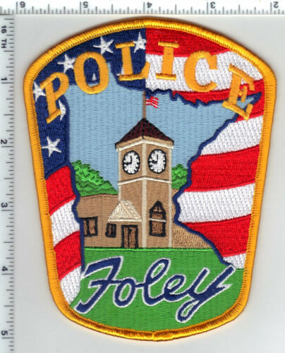 Foley Police (Minnesota)  Shoulder Patch  - new from the 1980